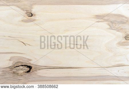 Plywood Texture With Knots. Wooden Background From Plywood Sheet.