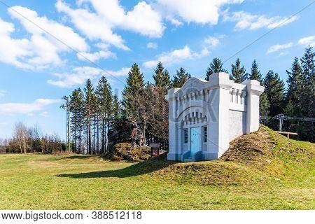 Reconstructed Building Of Historical Water Reservoir In Dobra Voda, Jablonec Nad Nisou, Czech Republ