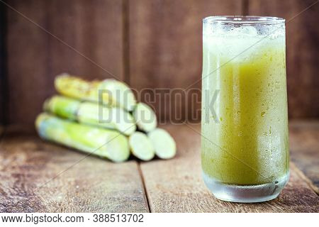 Sugar Cane Juice Or Garapa Is The Liquid Extracted From Sugar Cane In The Milling Process. Typical D