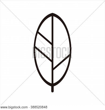 Leaf. Leaf Logo. Nature Leaf Logo. Leaf Symbol Or Vector Icon. Leaf Mark. Leaf Icons. Leaf Vector. L