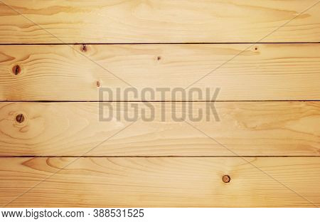 Old Brown Rustic Light Bright Wooden Maple Texture. Brown Wood Wall Background Or Texture. Natural P
