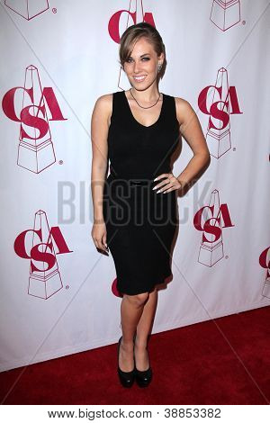 LOS ANGELES - OCT 29:  Georgie Jacobs arrives at the Casting Society of America Artios Awards at Beverly Hilton Hotel on October 29, 2012 in Beverly Hills, CA