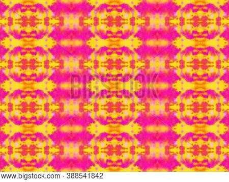 Portuguese Tile. Ornamental Chevron Print. Ethnic Texture. Red And Orange Ink Stripes. Abstract Geom