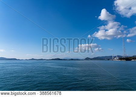 Islands Of The Seto Inland Sea. Hiroshima Prefecture, Japan