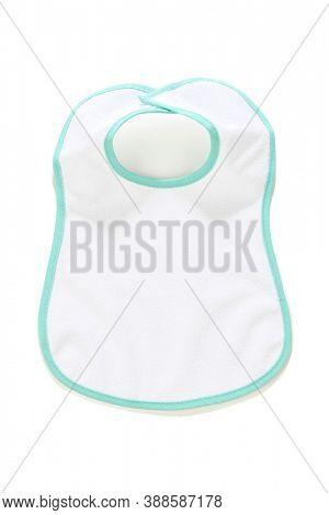 Baby bib isolated on white background