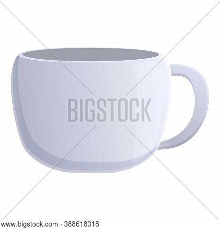Drink Mug Cup Icon. Cartoon Of Drink Mug Cup Vector Icon For Web Design Isolated On White Background