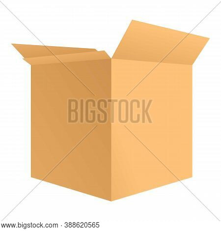 Warehouse Label Parcel Icon. Cartoon Of Warehouse Label Parcel Vector Icon For Web Design Isolated O