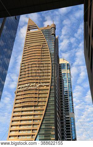 Dubai, Uae - November 22, 2017: City Premiere Hotel Building In Dubai, Uae. Dubai Is The Most Populo