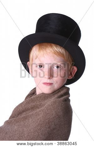 Beautiful boy top hat