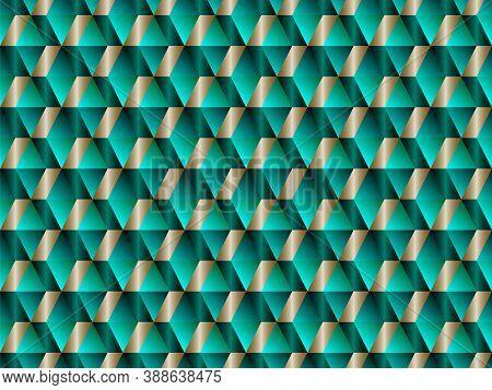 Poly Art Grid Geometric Seamless Vector Background. Hypnotic Polygon Triangles Geometric Bauhaus Des