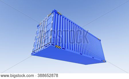 3d, Background, Blue, Box, Business, Cargo, Cargo Containers, Cargo-container, Commercial, Container