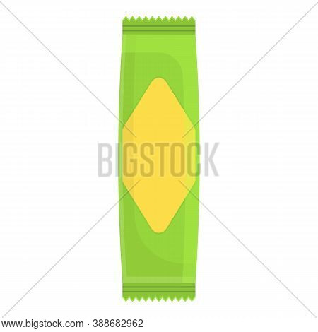 Granola Snack Bar Icon. Cartoon Of Granola Snack Bar Vector Icon For Web Design Isolated On White Ba