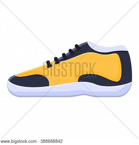 Casual Sneakers Icon. Cartoon Of Casual Sneakers Vector Icon For Web Design Isolated On White Backgr