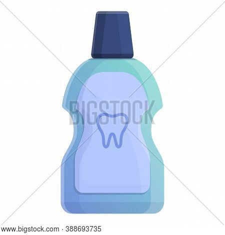 Mouth Rinse Icon. Cartoon Of Mouth Rinse Vector Icon For Web Design Isolated On White Background