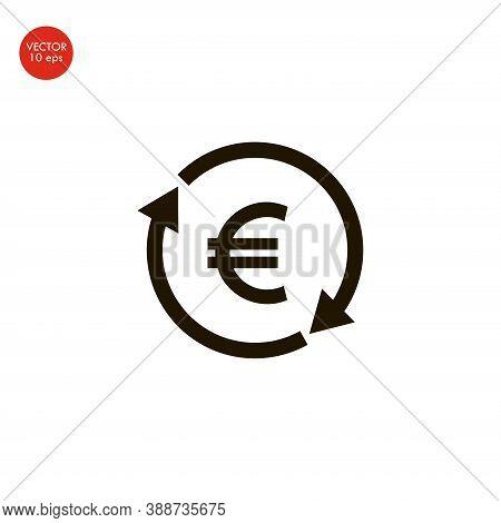 Money Exchange Icon Illustration Isolated Vector Sign Symbol