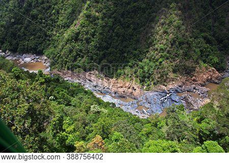 River On Rainforest In Kuranda, Cairns, Australia