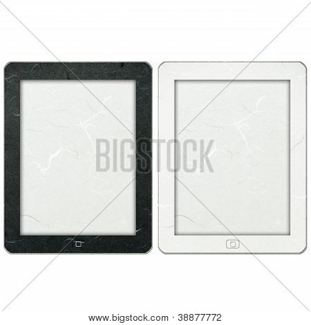 Rice Paper Cut Tablet Computer
