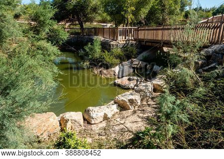 El Recorral Recreative Park Area Near Rojales, Quesada In Spain