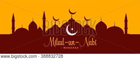 Milad Un Nabi Islamic Festival Barawafat Banner Design
