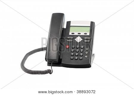 Desktop telephone IP PBX for telemarketing