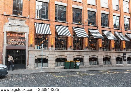 Facade Of Dollard & Co Store And Restaurant In Dublin