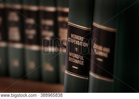 Workers compensation law books injured on the job and seeking help