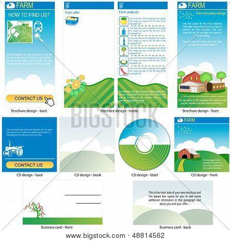 Farm Template Design