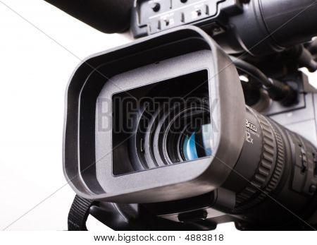 DV Cam Camcorder close up
