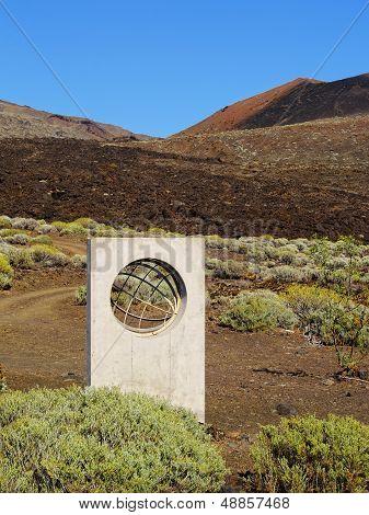 Zero Meridian Monument On Hierro