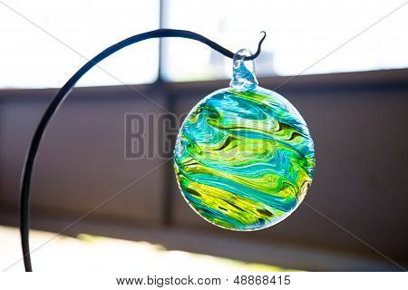 Finished Glassblowing Float