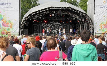 Goldie Lookin Chain hip hop / rap band at Guilfest Music Festival