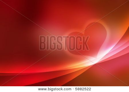 Heart - Valentine Abstract Background