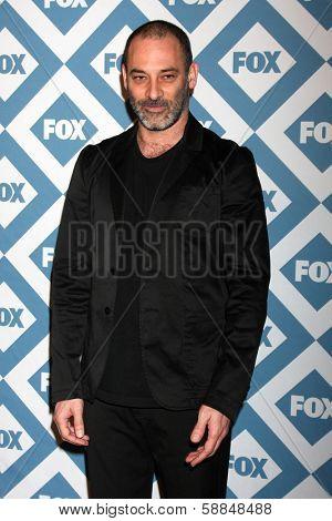 LOS ANGELES - Jan 13:  Ashraf Barhom at the  FOX TCA Winter 2014 Party at The Langham Huntington Hotel onJanuary 13, 2014 in Pasadena, CA