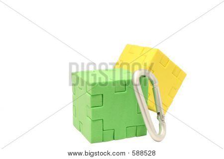 Two Blocks Climbing