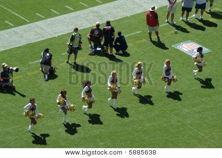 Hot Chargers Cheerleaders