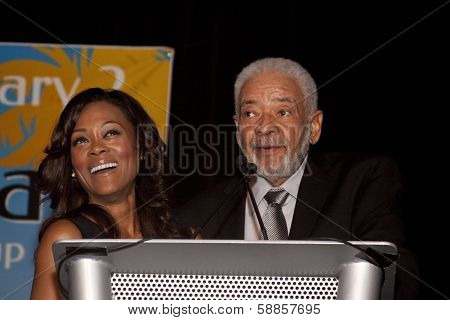 Robin Givens and Bill Withers