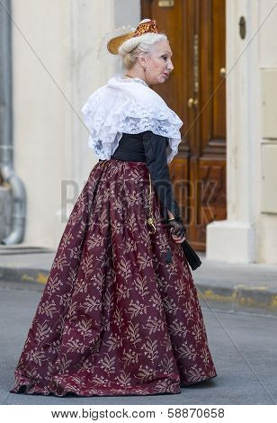 Arles, Woman With Traditional Costume