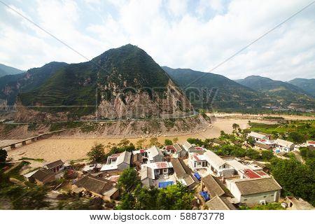China Outskirt View