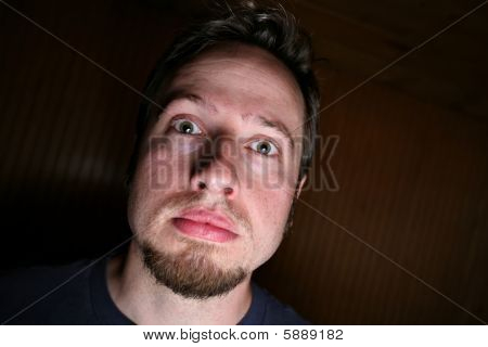 Man With Stony Face