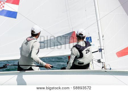 Croatia Finishes 4Th At The Isaf Sailing Wold Cup In Miami