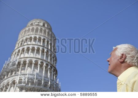 The Pisa Tower.