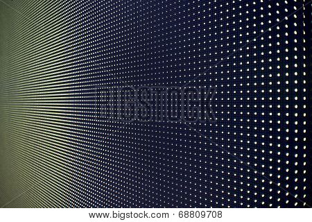 Light emitting diodes for LED display  backgrounds