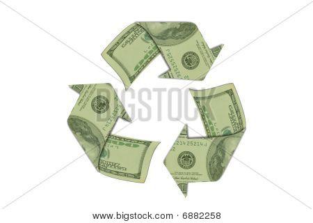 Money Recycle Symbol