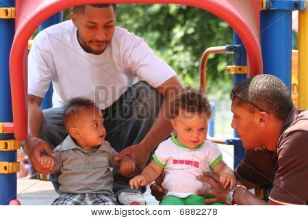 African American Family Playground