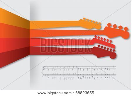 Funky music background