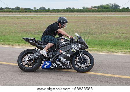 Electric Racing Motorcycle