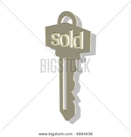 gold key - sold