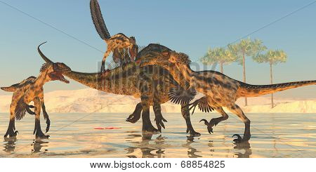 Tenontosaurus Attack
