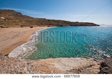 Lia Beach In Mykonos