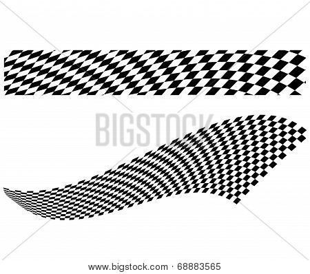 Vector Checkerboard Illustration